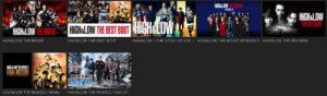 Hulu 画面