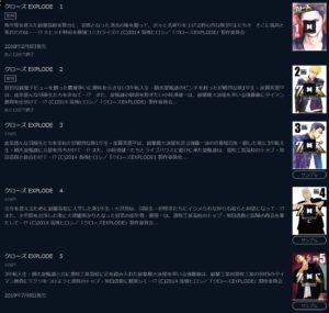 U-NEXT マンガ 画面